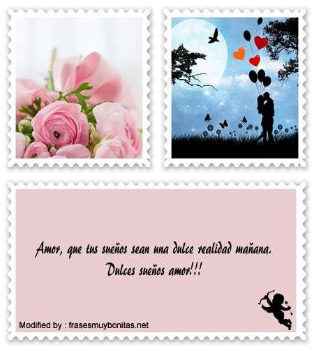 Descargar tarjetas de buenas noches con dedicatorias romànticas para novios,