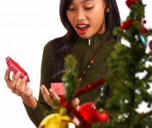 maravillosas pallabras para saludara a tu novia en navidad