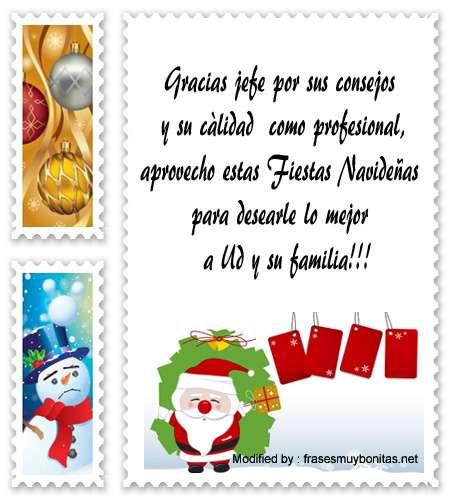 Tarjetas Con Saludos Especiales De Navidad Para Tu Jefe