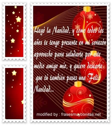 mensajes de navidad,bonitos saludos de navidad para un amigo