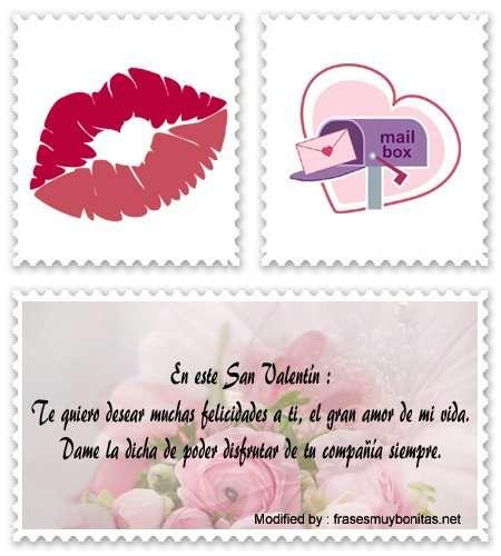 Bonitas palabras romànticas para el 14 de Febrero