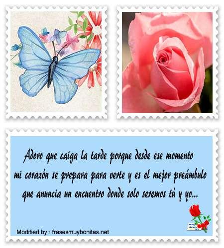 Frases Bonitas De Buenas Tardes A Mi Amor Mensajes
