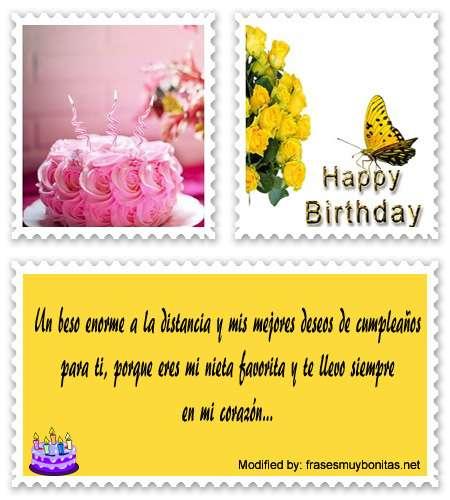 Top Mensajes De Cumpleaños Para Mi Nieta Saludos De