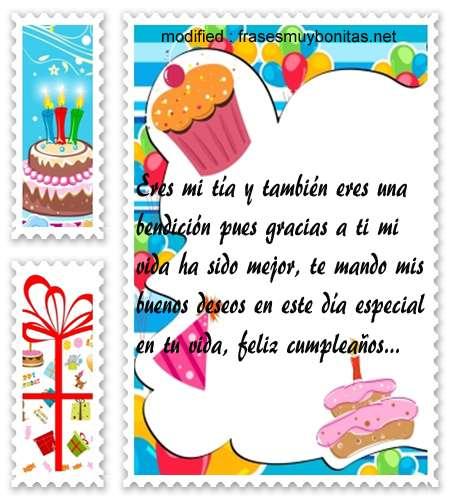 mensajes de cumpleanos225,versos de feliz cumpleaños para una tía querida