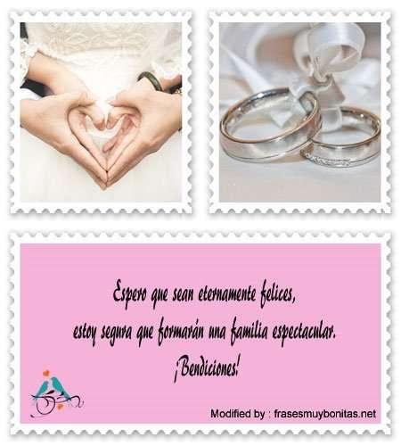 bellas frases para felicitar a los recién casados