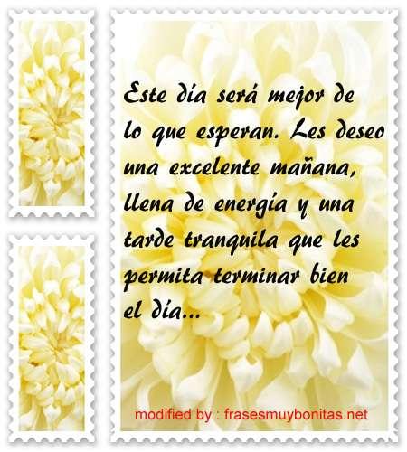 mensajes de buenos dias33,palabras para desear muy buenos días a tu amigo