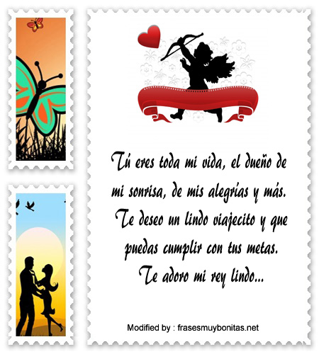 Frases Para Mi Novio Que Se Va De Viaje Mensajes De Amor