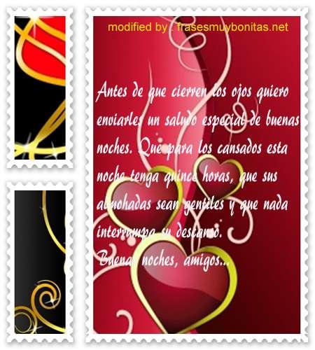 mensajes de buenas noches55,cortos y tiernos textos de buenas noches a tus amistades