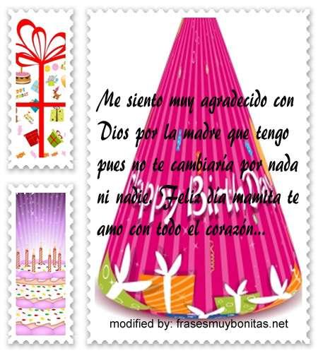 mensajes de cumpleanos198,frases de feliz cumpleaños mamita