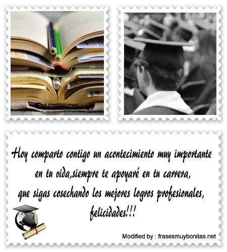 Bonitas Frases De Graduación Para Mi Novio Felicitaciones