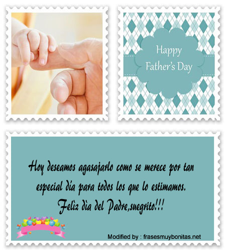 mensajes bonitos para mi papà por el dìa del Padre