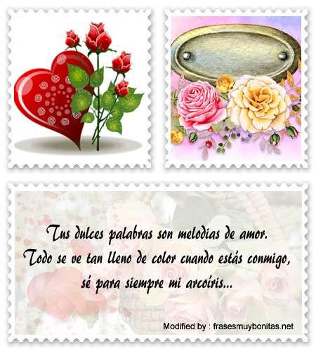 Buscar tarjetas con palabras romànticas para mi amor para Instagram