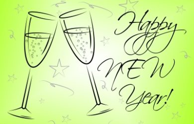 bonitas palabras para agradecer por saludos de año nuevo