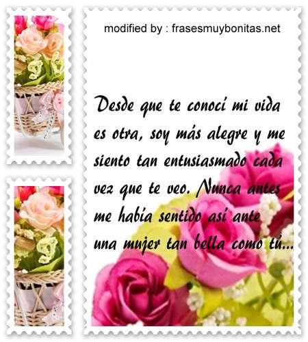 mensajes de amor,románticos sms para enviar a una mujer