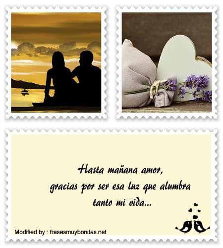 Mensajes bonitos y romànticos de dulces sueños para mi amor para celular