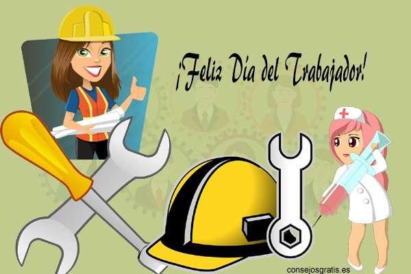 Saludos por Día del Trabajador empresariales