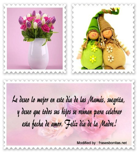 frases a mi suegra por el día de la Madre para Messenger