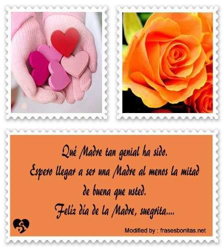 bellas frases a mi suegra por el día de la Madre
