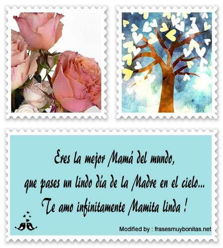 Frases Por El Día De La Madre Para Una Madre Fallecida Recordatorios De Amor Frasesmuybonitas Net
