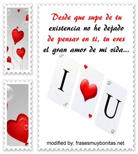 palabras para enamorar una mujer,postales con lindos mensajes románticos para una mujer