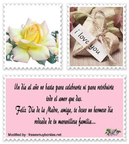 buscar tiernas frases del Día de la Madre