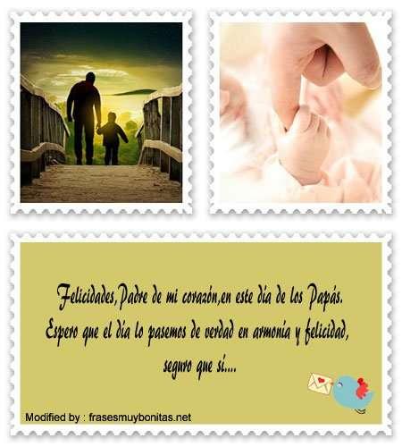 descargar frases y tarjetas bonitas para el Día del Padre