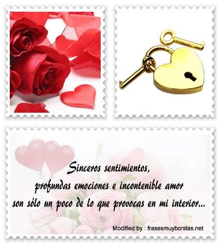 Buscar tarjetas con mensajes romànticos para enamorar