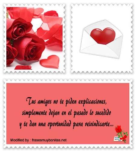 Frases de amigos y amistad para dedicar por Messenger
