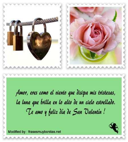 Bonitas poemas y tarjetas de amor para San Valentín para novios