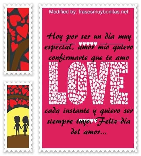 frases para el dia del amor,originales saludos a tu amor por el dia de los enamorados