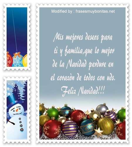 descargar mensajes con imàgenes de felìz Navidad