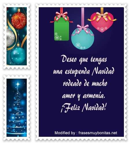 buscar mensajes bonitos con imàgenes de felìz Navidad