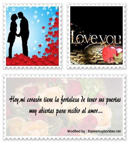 Buscar tarjetas con mensajes románticos para enamorar