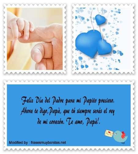 bellos mensajes para Papá en su Día