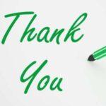 Nuevas dedicatorias de agradecimiento, descargar palabras de agradecimiento por buenos deseos