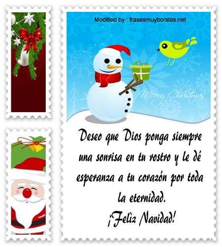 tarjetas con bonitas frases de Navidad