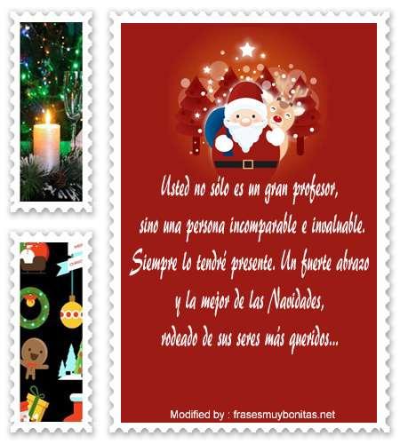 descargar textos para enviar en Navidad para un profesor por whatsapp