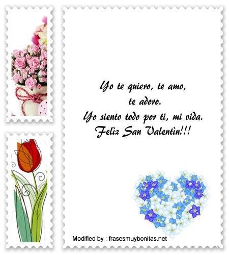 bonitos poemas de amor para San Valentin