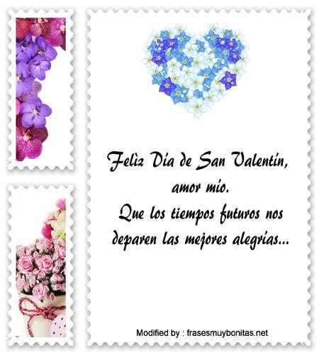 bonitas frases de amor para San Valentin
