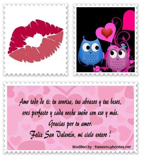 textos de amor para enviar por whatsapp el 14 de Febrero