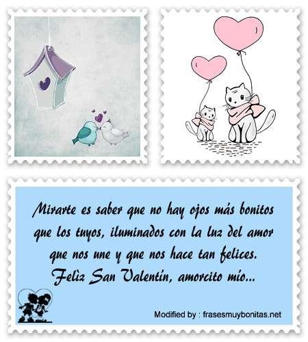frases y mensajes románticos para San Valentin