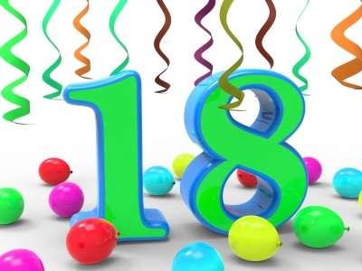 Feliz cumpleanos 18 anos varon