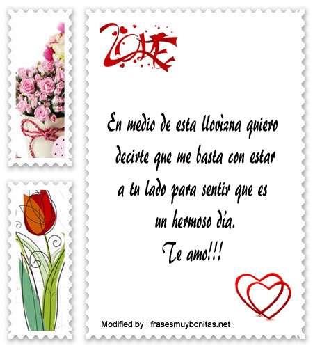 Mensajes De Amor Bajo La Lluvia Mensajes Romànticos