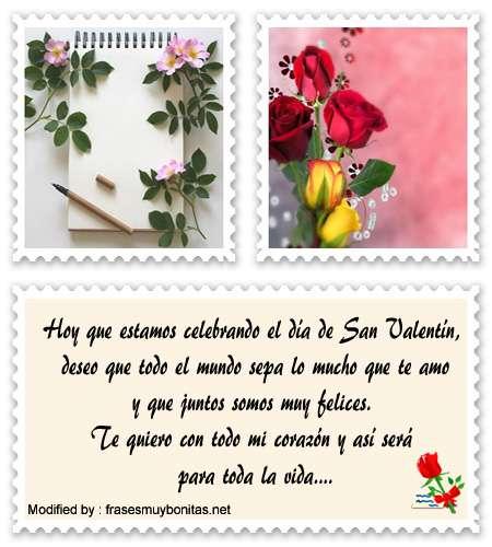 textos bonitos para San Valentin para whatsapp