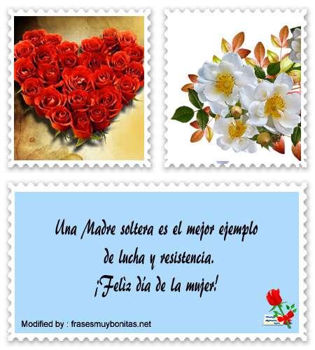 bonitas postales para felicitar el día de las Mujer