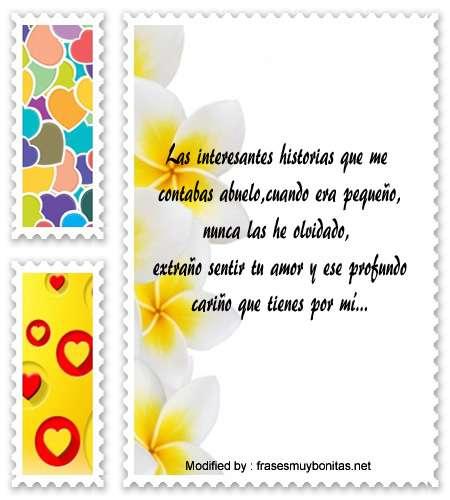 Buscar Bonitos Mensajes Cariñosos Para Tu Abuelo Palabras De Afecto