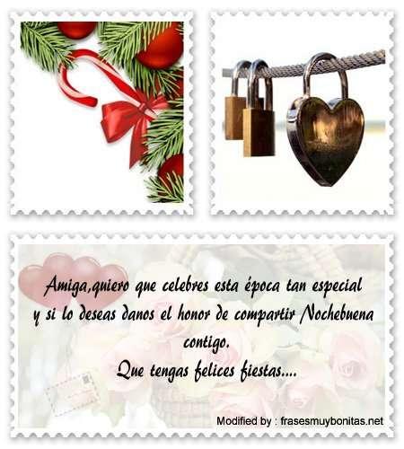 lindos mensajes de Navidad para tu amigo
