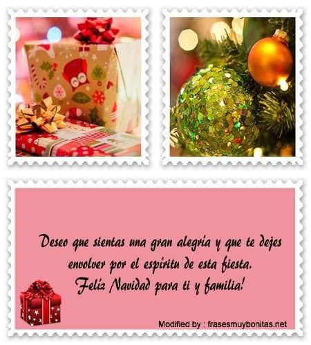 enviar mensajes de Navidad para tu amigo