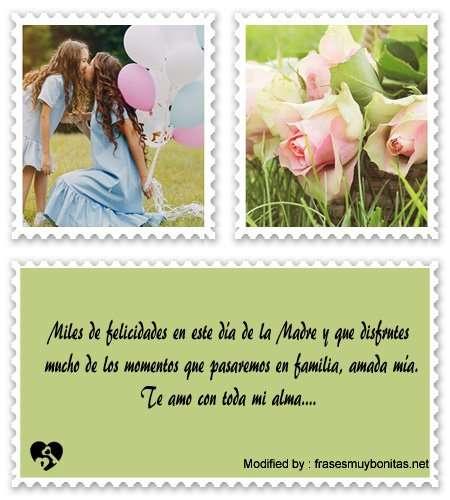 enviar lindos mensajes por el día de la Madres