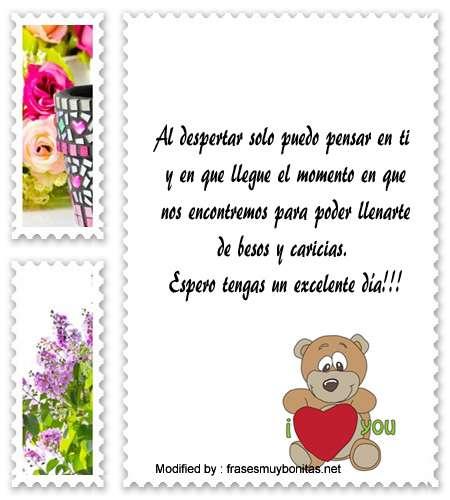 Lindos Mensajes De Buenos Días Para Tu Amor Saludos De